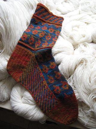 Wollmeise socka