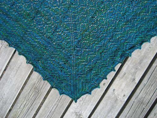 Wollmeise shawl 2