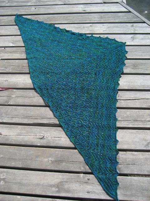 Wollmeise shawl 1
