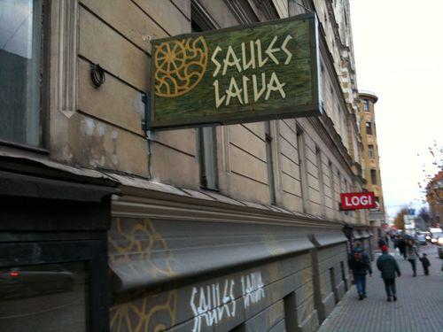 Lettisk slöjdaffär